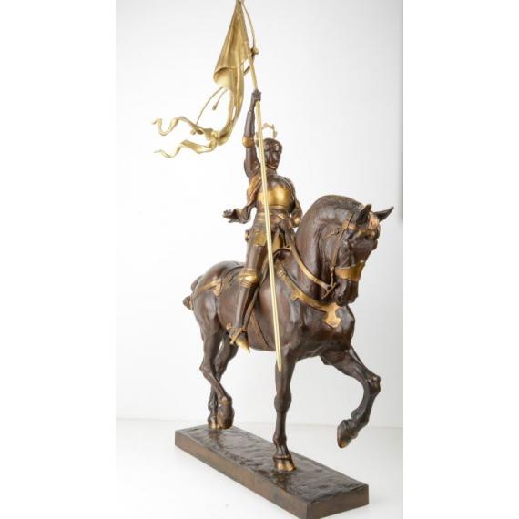 Jeanne d'Arc équestre - Emmanuel Frémiet