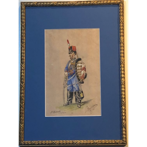 8ème Hussards 1860 G. Bonneterre