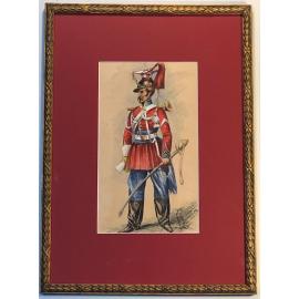 Trompette de Lancier de la Garde Impériale G. Bonneterre