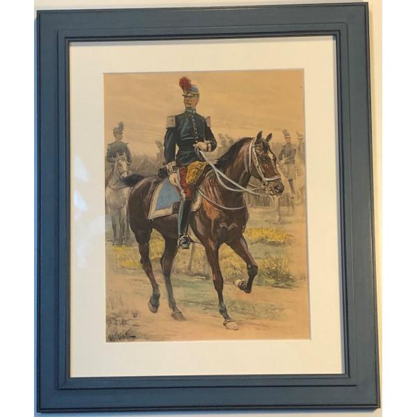 Capitaine de Cavalerie A. Lalauze