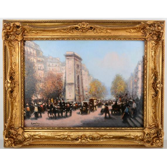 Paris - Effet d'Automne à la Porte Saint Martin