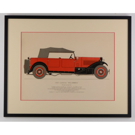 Lancia Dilambda - 1930