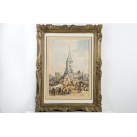 Marché de Normandie - Auguste Constantin