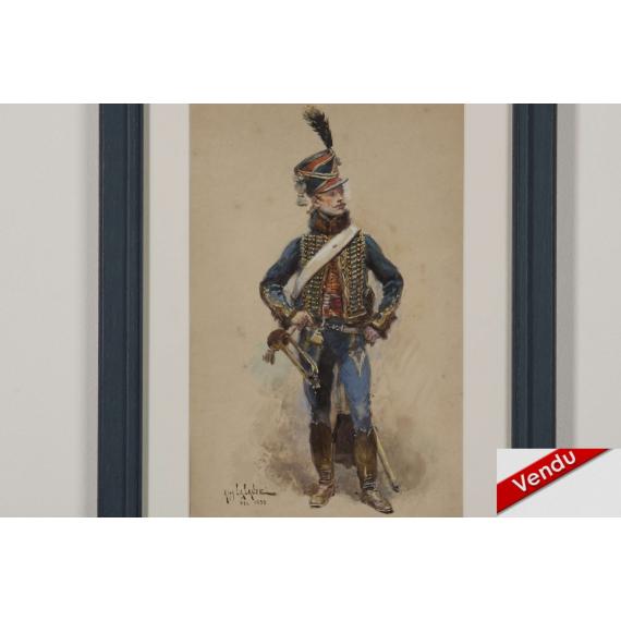 Trompette du 4ème Hussard