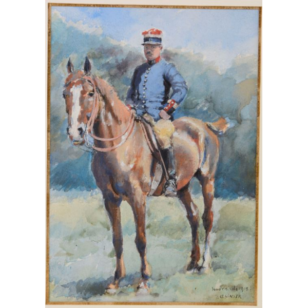 Souvenir de 1915 - François Oesinger